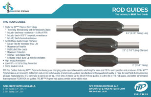 RFG Petro Systems - Rod Guides